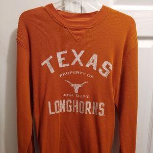 Texas Longhorns Men's Burnt Orange Waffle Thermal